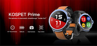 <b>KOSPET PRIME</b>: The First Smartwatch in The World with <b>Face ID</b> ...