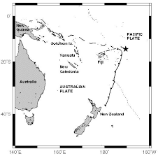Samoan Fish Chart 2 Regional Map Showing The Location Of The Samoan