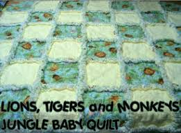 jungle baby quilt crib pattern panel block - cute jungle quilt ... & jungle baby quilt crib pattern panel block - cute jungle quilt ideas Adamdwight.com