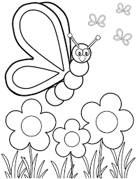 Small Picture Coloring Page Spring Coloring Pages For Preschoolers Coloring
