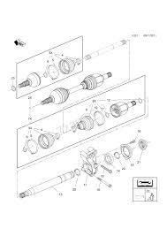 Front wheel drive transmission diagram front axle drive shaft used with af40 6 automatic transmission