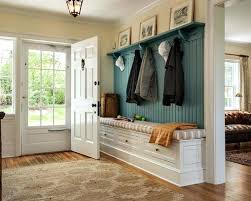 Entry Hall Bench Coat Rack Interesting Hall Tree Entry Bench Simitrustlaw