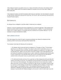 Employment Termination Letters New Human Resources Insight Termination Training Manual