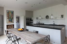 kitchen spot lighting. the recessed spots with black baffle are barely visible and not symmetrical kitchen spot lighting