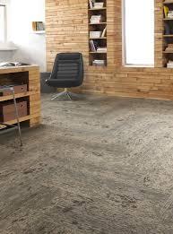 Mohawk carpet tile Denim s pattern Selvedge installed in ashlar