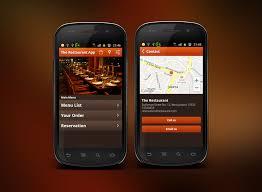restaurant menu design app 20 awesome android app templates with premium designs