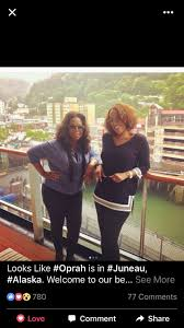 """Myrna Gardner ICCM-F on Twitter: """"Oh my @Oprah in Alaska! Welcome Oprah &  Gayle to Haa Aani (Our land) hope you come back and stay awhile! #Oprah  #Alaska #Juneau #HaaAani… https://t.co/iwlQbRB7tV"""""""