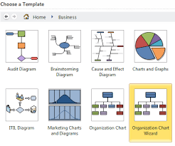 Organization Chart Wizard Excel Display Hierarchical Data With Visio And Excel Craigs