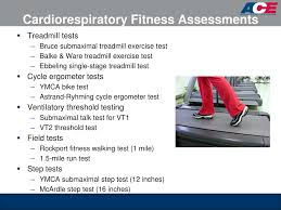 Ymca Bike Test Chart Ppt Ace Personal Trainer Manual 4 Th Edition Chapter 8