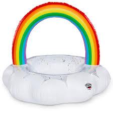 "<b>Круг надувной BigMouth</b> ""<b>Rainbow</b> Cloud"", 101 х 123 х 119 см ..."