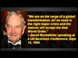 FINALLY, David Rockefeller Quotes Read On A Main Stream Radio Show ...
