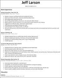 Download Welder Resume Haadyaooverbayresort Com