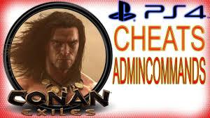 Conan Exiles PS4 Cheats - Admin Commands - Items / Creatures ...