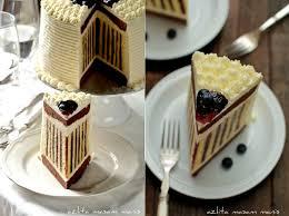 Delicious Striped Cake Alldaychic
