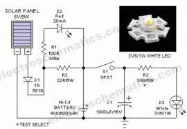 index 19 led and light circuit circuit diagram seekic com portable solar lantern