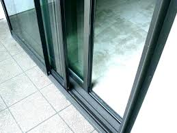 replacement sliding glass doors install sliding glass door replacement