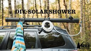 diy car top solar camp shower rei