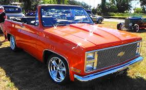 1975 Chevy Blazer Convertible Is A Rare Truck In Beautiful Orange