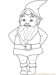 Small Picture Dwarf Gnome Coloring Page 07 Coloring Page Free Fantasy Coloring