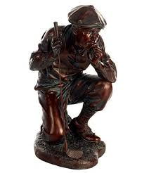 contemplative golfer statue only 89 99