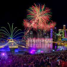 marina bay new year countdown visit