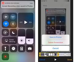 screen recording ipad ios 11