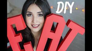 DIY: 3D буквы из бумаги / Паперкрафт/ Fancy Smth. - YouTube
