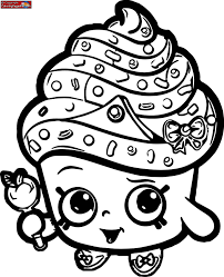 Cupcake Queen Shopkin Coloring Pages Inspirational Queen Coloring