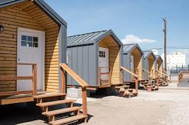tiny house denver. The New Community, Which Opened July 21, Can Living Spaces For Up To 22 Of City\u0027s Homeless Citizens, Sheltering Them In 11 Tiny Homes. House Denver