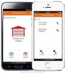 garage door alarmControl for home and garage doors