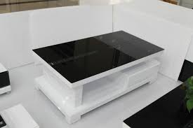 white glass top coffee table modern