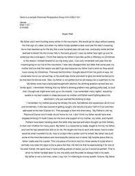 effective application essay tips for personal perspective essay one type of essay that is frequently assigned to students is the personal perspective paper