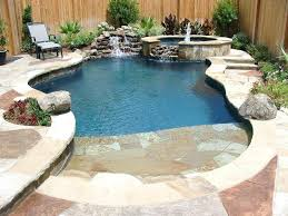 formal pools custom pool natural beach entry zero fiberglass cost