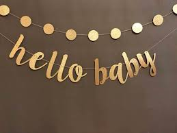 baby shower banners oh baby banner baby shower banner black gold baby shower