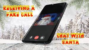 talk with santa-Fake call and fake Chat ...