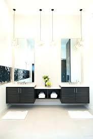 bathroom pendant light bathroom vanity pendant lights double modern floating vanities with stylish pendant lamps for