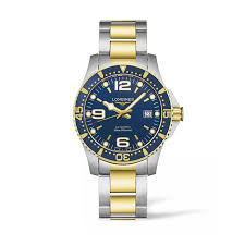 buy a longines watch online fraser hart longines hydroconquest men s yellow gold plated stainless steel watch