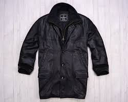 petroff silver label leather jacket