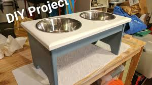 DIY: Building a Dog Bowl Stand!