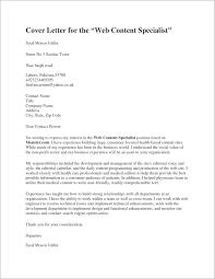 Sample Job Cover Letter For Resume Nursing Cover Letter Samples