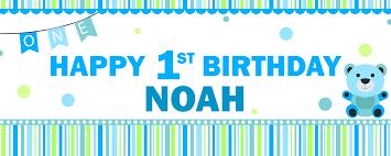 1st birthday banner happy 1st birthday banner boy happy birthday world