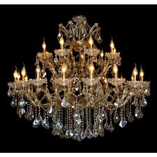 attractive gold crystal chandelier primrose 45 light 54 grand for brilliant house grand crystal chandelier ideas