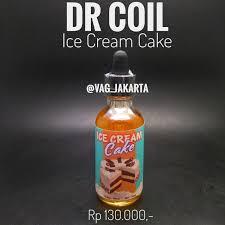 Dr Coil Ice Cream Cake Liquid 60ml Indonesia Shopee Indonesia