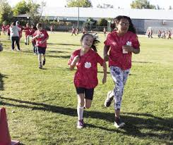 Students Walk And Jog For Annual Walk A Thon Fundraiser Roots