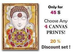 198 best art by dhana images on pinterest mandalas, wall art Zen Wedding Gifts set of 4 giclee prints, rustic boho zen wall art decor, 20 % off Gifts for the Zen Office