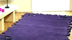 purple grey rug