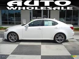 lexus is 250 2008 white. Wonderful White Starfire White Pearl Lexus IS IS 250 With Is 2008
