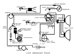 ignition light wiring diagram ignition wiring diagrams complete electrical wiring diagram for 1939 chevrolet truck
