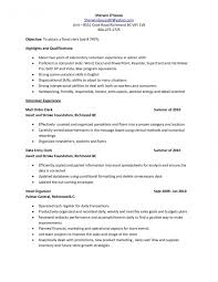 Resume Templates Data Entry Clerk Examples Photos Of General Office