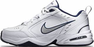Nike Air Monarch IV White/Metallic Silver/Midnight Navy 10 Reasons to/NOT to Buy (Feb 2019)   RunRepeat
